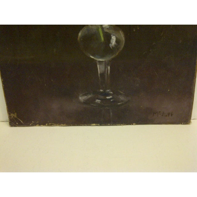 """""""The Flower"""" Original Frederick McDuff Painting For Sale In Pittsburgh - Image 6 of 8"""