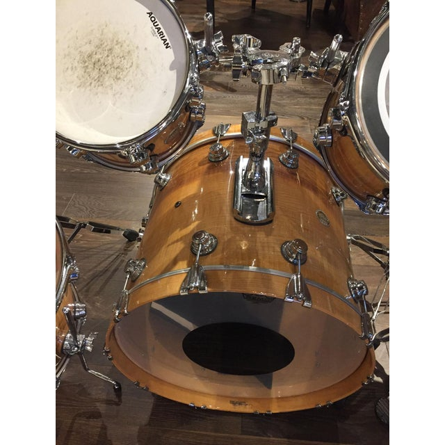 Modern Drum Set of 5 For Sale - Image 3 of 8