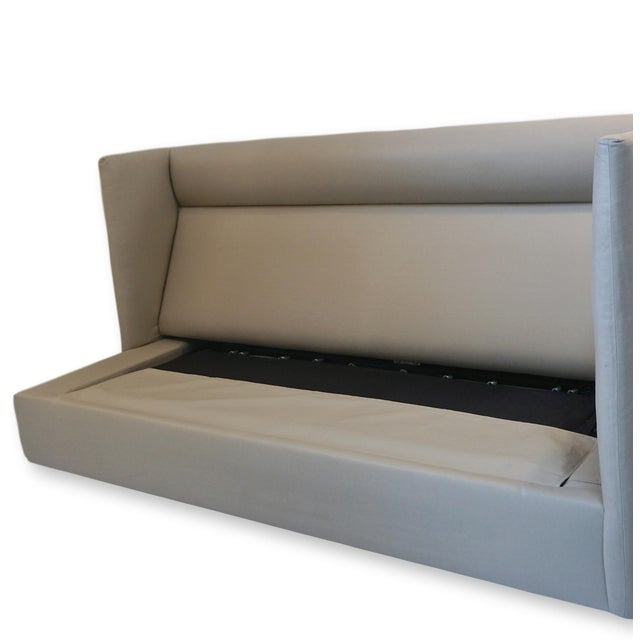 Donghia Style Modern Sleeper Sofa For Sale In San Diego - Image 6 of 10