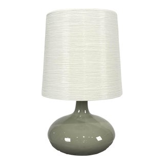 Lotte and Gunnar Bostlund Celadon Green Lamp