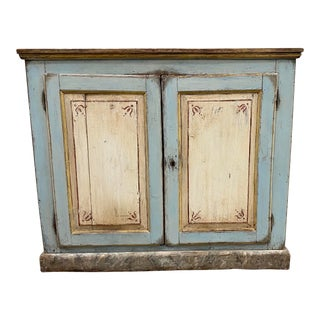 Italian Antique Painted Buffet - 19th C For Sale