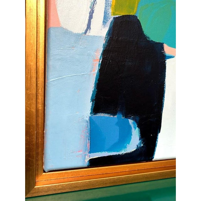 2010s Original Framed Abstract Painting For Sale - Image 5 of 7