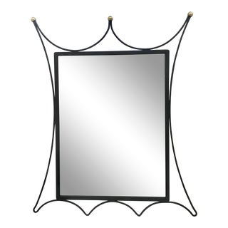 Royere Style French Mirror For Sale