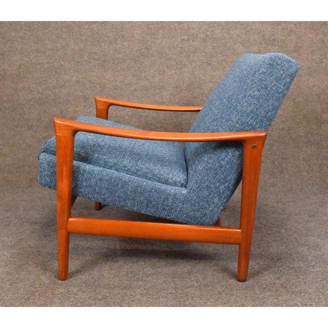 1960s 1960s Vintage Danish Erik Wortz for Bröderna Andersson Teak Lounge Chair For Sale - Image 5 of 11
