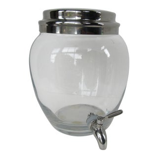 Pb Classic Glass Drink Dispenser For Sale