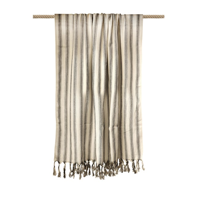 Turkish Hand Made Towel With Natural/Organic Cotton and Fast Drying,39x73 Inches For Sale - Image 11 of 13