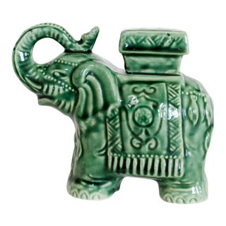 Elephant Garden Stool Miniature