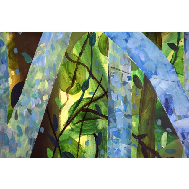 """Summertree Fantasia"" Original Acrylic Painting - Image 11 of 11"