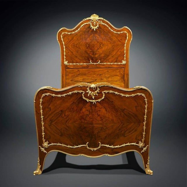 Rococo Style Twin Beds - A Pair - Image 3 of 8
