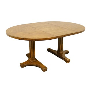 20th Century Traditional Drexel Accolade Collection Pedestal Dining Table For Sale