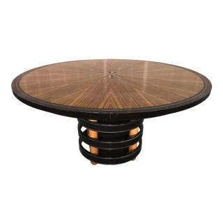 David Easton for Henredon Furniture Dining Table For Sale