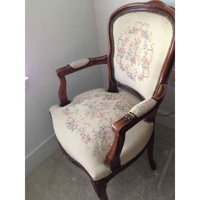 Vintage Chateaux d'Ax Italian Armchairs - Pair For Sale - Image 5 of 7