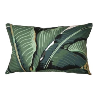 Hinson for the House of Scalamandre Hinson Palm Lumbar Pillow For Sale