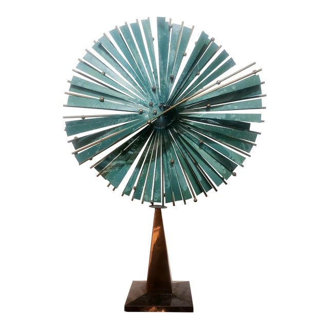 Curtis Jere Windmill Sculpture For Sale