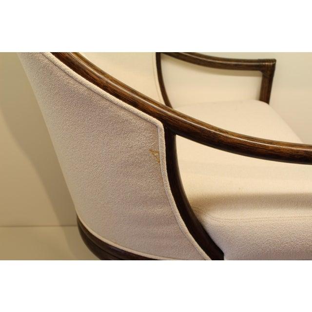 McGuire Orlando Diaz-Azcuy Aria Dining Arm Chair - Image 6 of 7