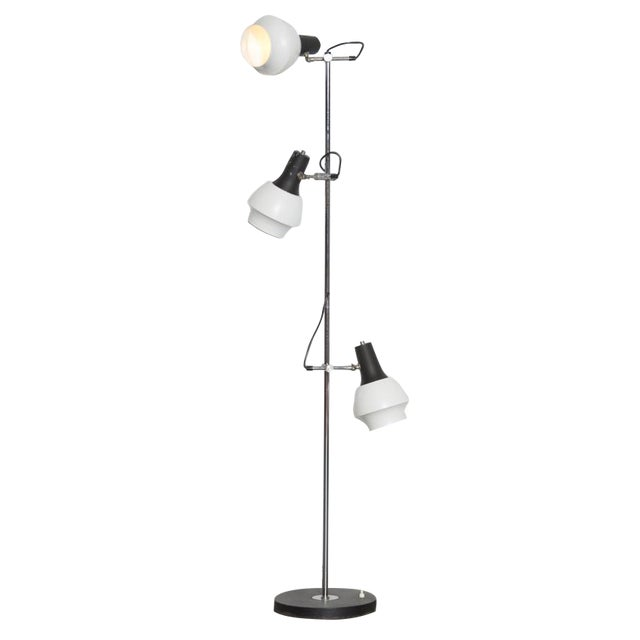 Black and White Triple Spot Lamp - Image 1 of 7