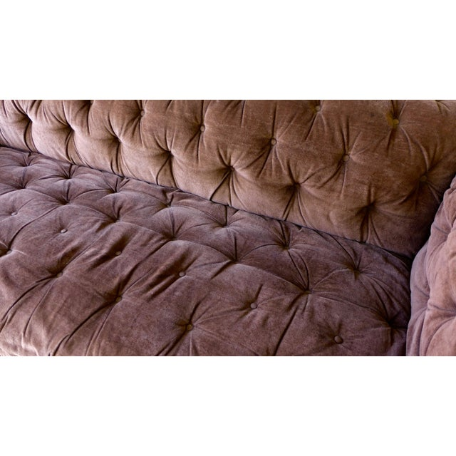 Mid Century Modern Tufted Chesterfield Sofa - Image 5 of 7