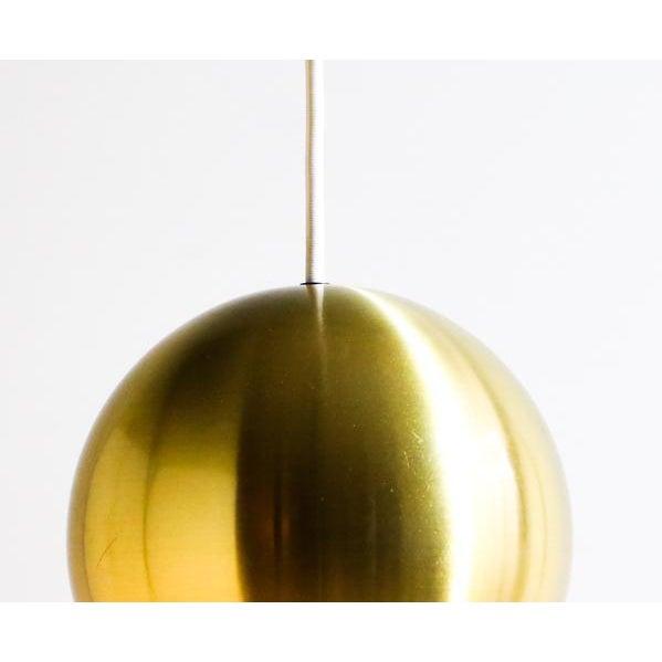 Gold Bowl Hanging Lamp - Image 3 of 4