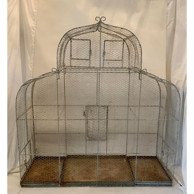 Elevating Bird Cages to an art form, we offer this wonderful piece fresh from a Southern California farm. Whether you...