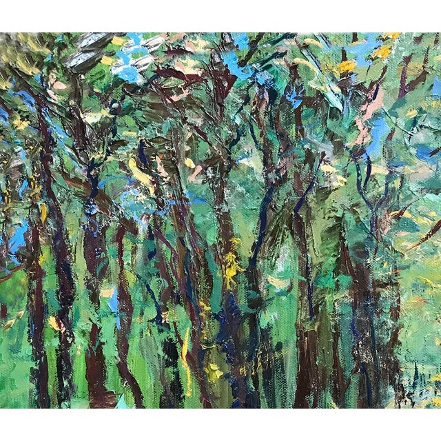 It's a Jungle Out There Original Oil Painting by Nancy T. Van Ness, Framed For Sale In Saint Louis - Image 6 of 9
