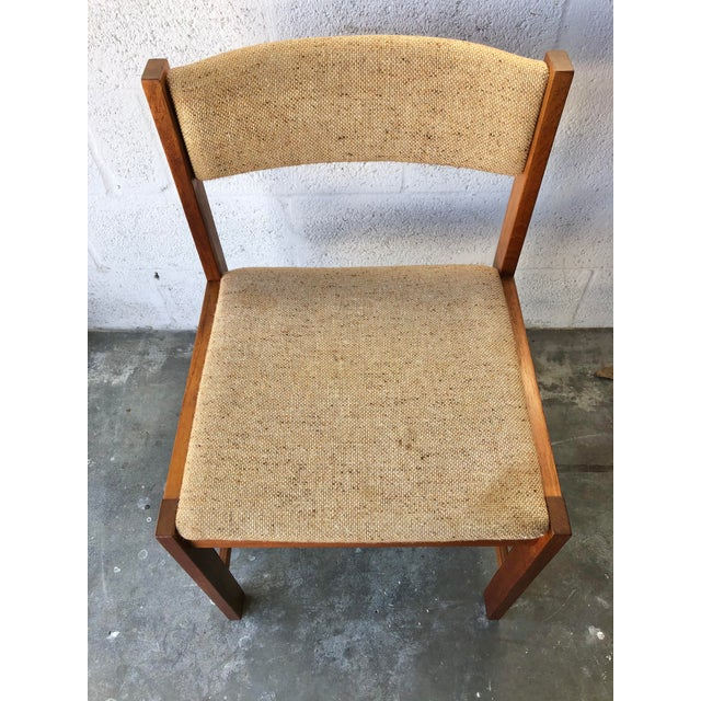 Vintage Mid Century Danish Modern Style Dining Chairs (Set of Four) For Sale In Miami - Image 6 of 13