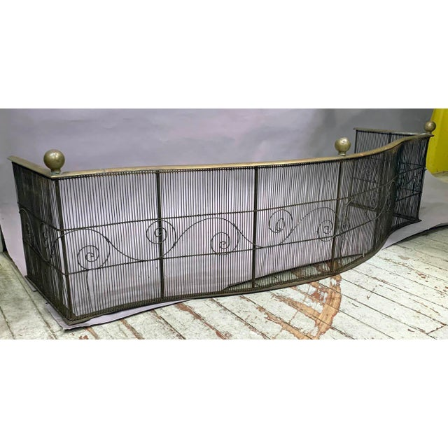 18th Century Vintage Fireplace Fender For Sale In New York - Image 6 of 6