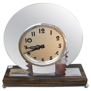 Modernist Art Deco Wind Up Clock For Sale