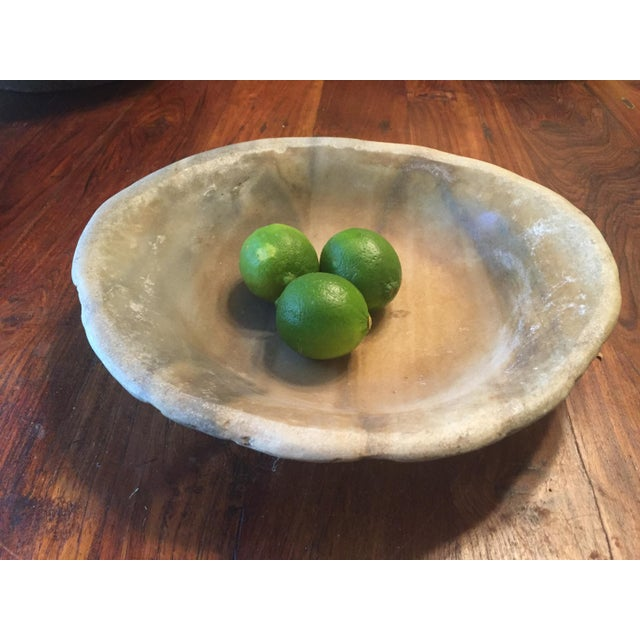 Old Marble Bowl - Image 4 of 5