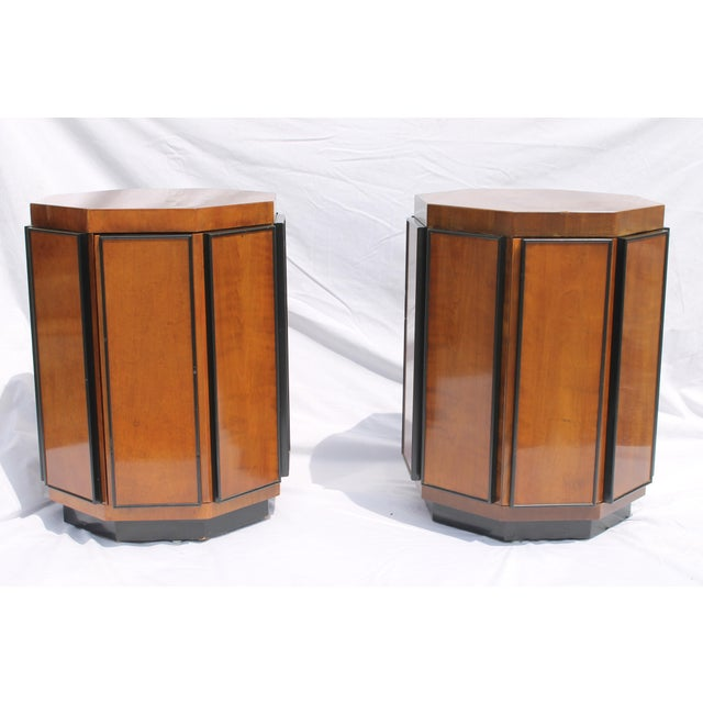 Henredon Mid-Century Nightstands or End Tables - A Pair - Image 5 of 11