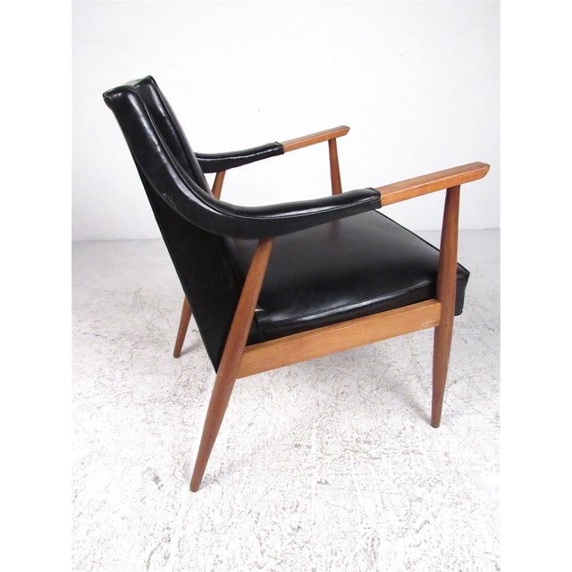 Pair of Vintage Modern Armchairs For Sale - Image 4 of 13