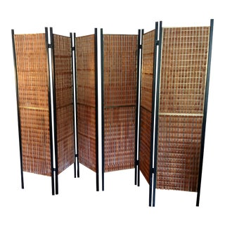 1950s Mid-Century Modern Paul McCobb Teak Room Divider Screens - a Pair