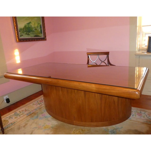 Dyrlund Rosewood Executive Desk - Image 9 of 10