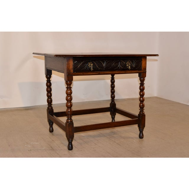 18th Century English Side Table For Sale - Image 10 of 10