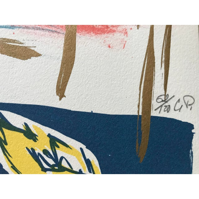 Artist - Carlos Pazos Title - Oranges Signed - initialed numbered by hand in pencil Edition - Limited Edition 62 / 100...