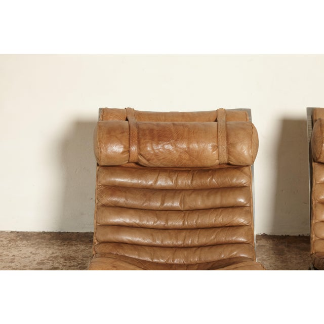 Pair of Arne Norell Ari Chairs, Norell Mobler, Sweden, 1970s For Sale - Image 10 of 13