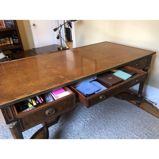 Theodore Alexander Theodore Alexander Writing Desk For Sale - Image 4 of 11