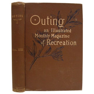 Antique Outing: An Illustrated Monthly Magazine For Sale