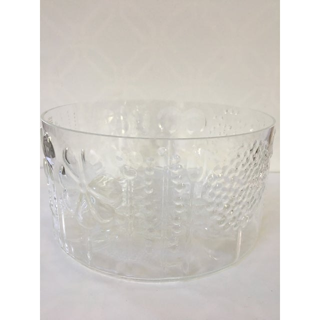 1960s Mid-Century Modern Oiva Toikka Flora Glass Bowl by Arabia Finland For Sale - Image 6 of 10