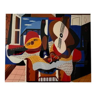 Contemporary Abstract Musical Art Print For Sale