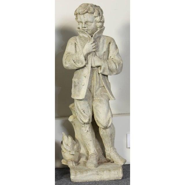 English Cast Stone Depicting Four Seasons Garden Statues