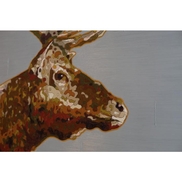 """Tule Elk"" Oil on Board 2017 For Sale - Image 4 of 7"