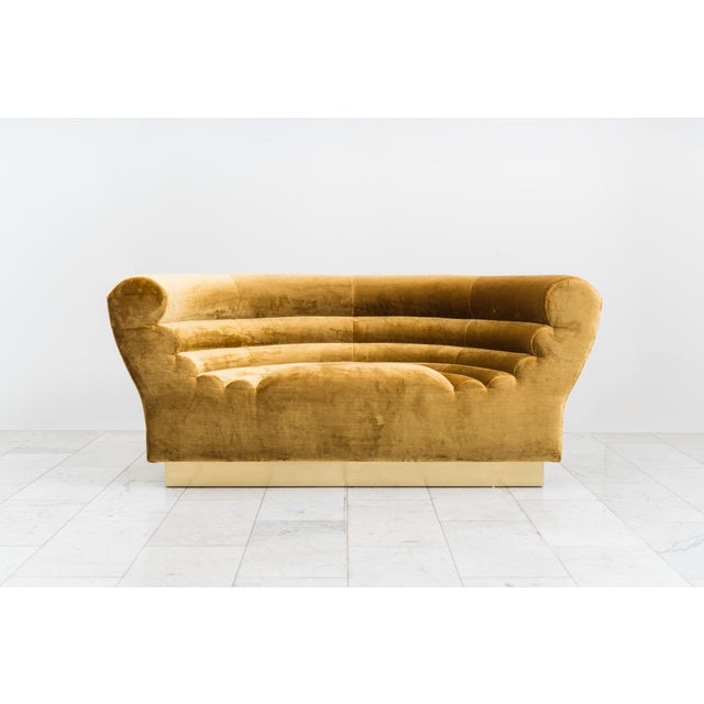 Not Yet Made - Made To Order Todd Merrill Custom Originals, the Sugar Bowl Settee For Sale - Image 5 of 9