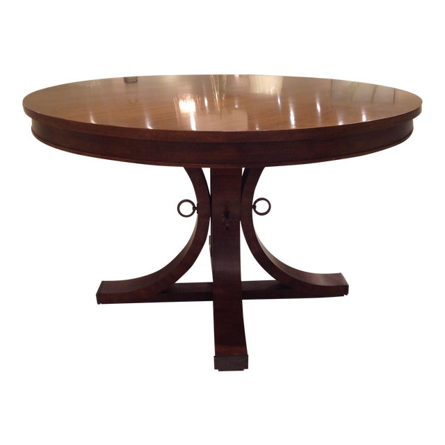 Hickory Chair Artisan Dining Table Chairish