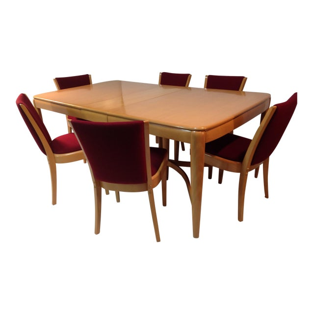 1940s Vintage Heywood Wakefield Dining Set For Sale