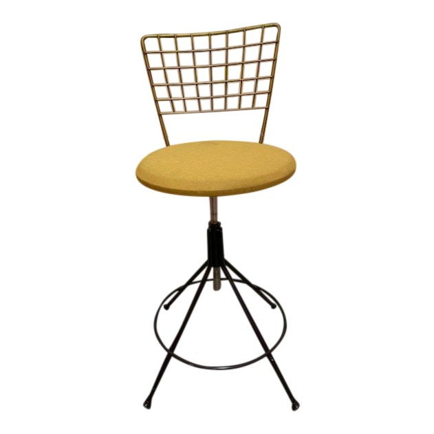 Marvelous Vintage Mid Century Adjustable Desk Drafting Stool Unemploymentrelief Wooden Chair Designs For Living Room Unemploymentrelieforg