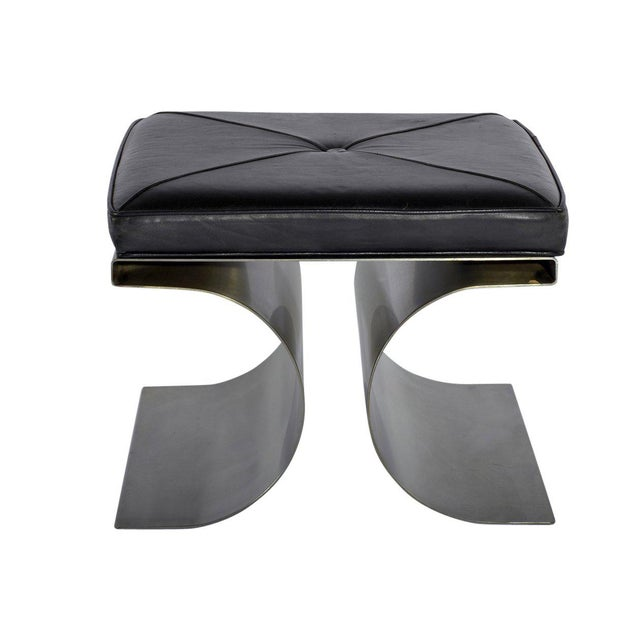 """Michel Boyer """"X"""" Stool, Circa 1968 For Sale - Image 11 of 11"""