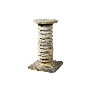 Vintage Concrete Pedestal For Sale