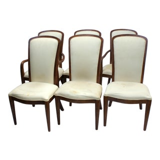 1990s Vintage Century Furniture Omni Dining Chairs - Set of 6 For Sale
