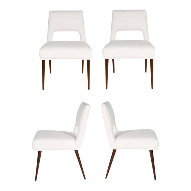 Set of Four Hofford Dining Chairs For Sale - Image 4 of 4
