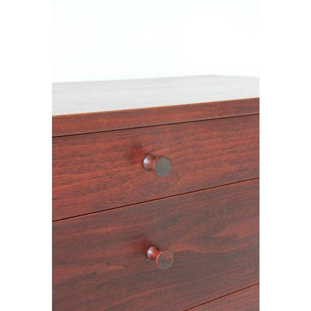 Vintage Mid-Century Modern Walnut 4-Drawer Dresser - Image 5 of 7